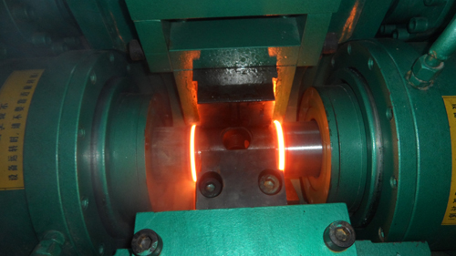 摩擦焊机焊接状态